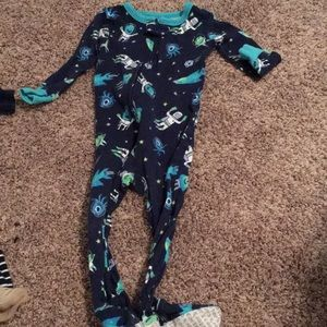Footed pajamas